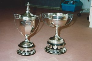 Barnsdale cup and Birking cup at Beeston Fields Golf Club, Nottingham