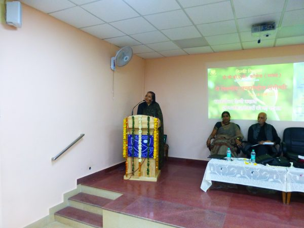 2016e Speaking at DAV College Delhi