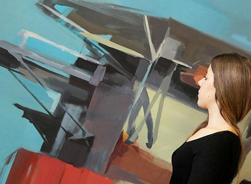 Emerging Art Fair Madrid - Lidia Orán, her artwork
