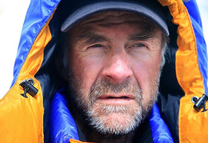 Sir Ranulph Fiennes OBE Hero Image
