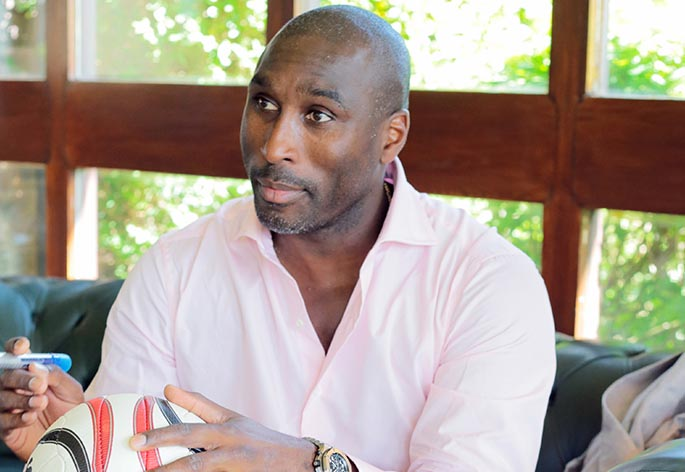 Sol Campbell Hero Image