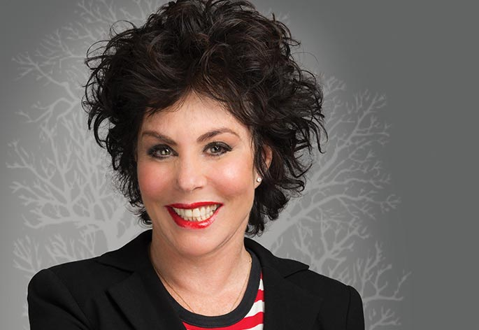Ruby Wax, OBE Hero Image