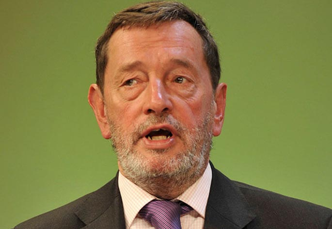Rt Hon David Blunkett MP Hero Image