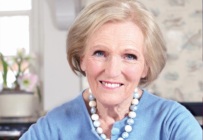 Mary Berry CBE Hero Image