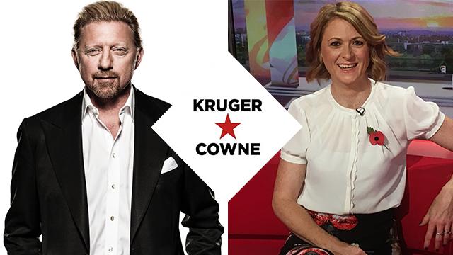 Boris Becker | Moderated by Rachel Burden | July 2018 | Kruger Cowne Breakfast Club Event Image