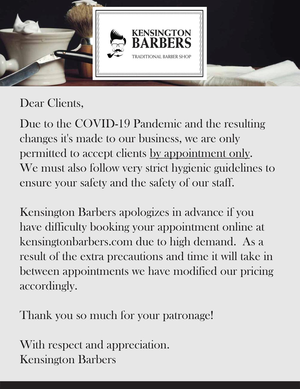 Dear Clients