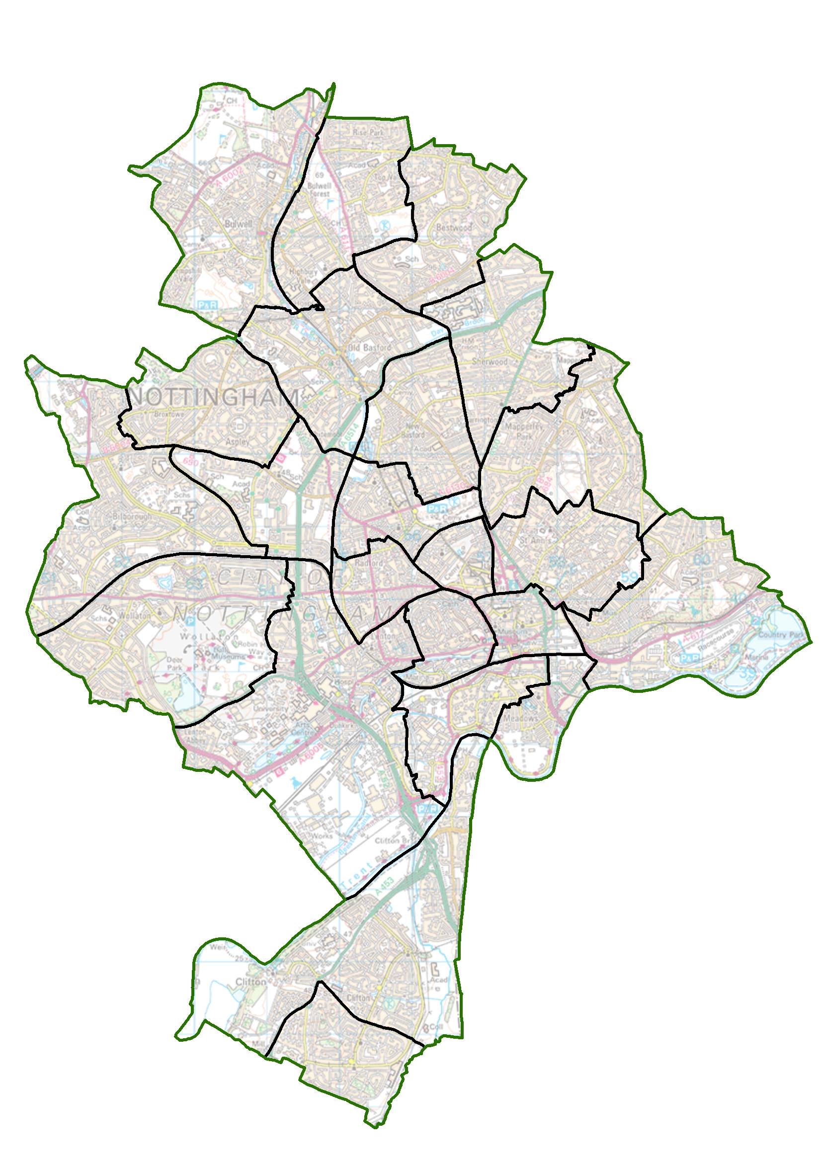 Nottingham Residents Have Your Say On New Ward Boundaries Lgbce Site