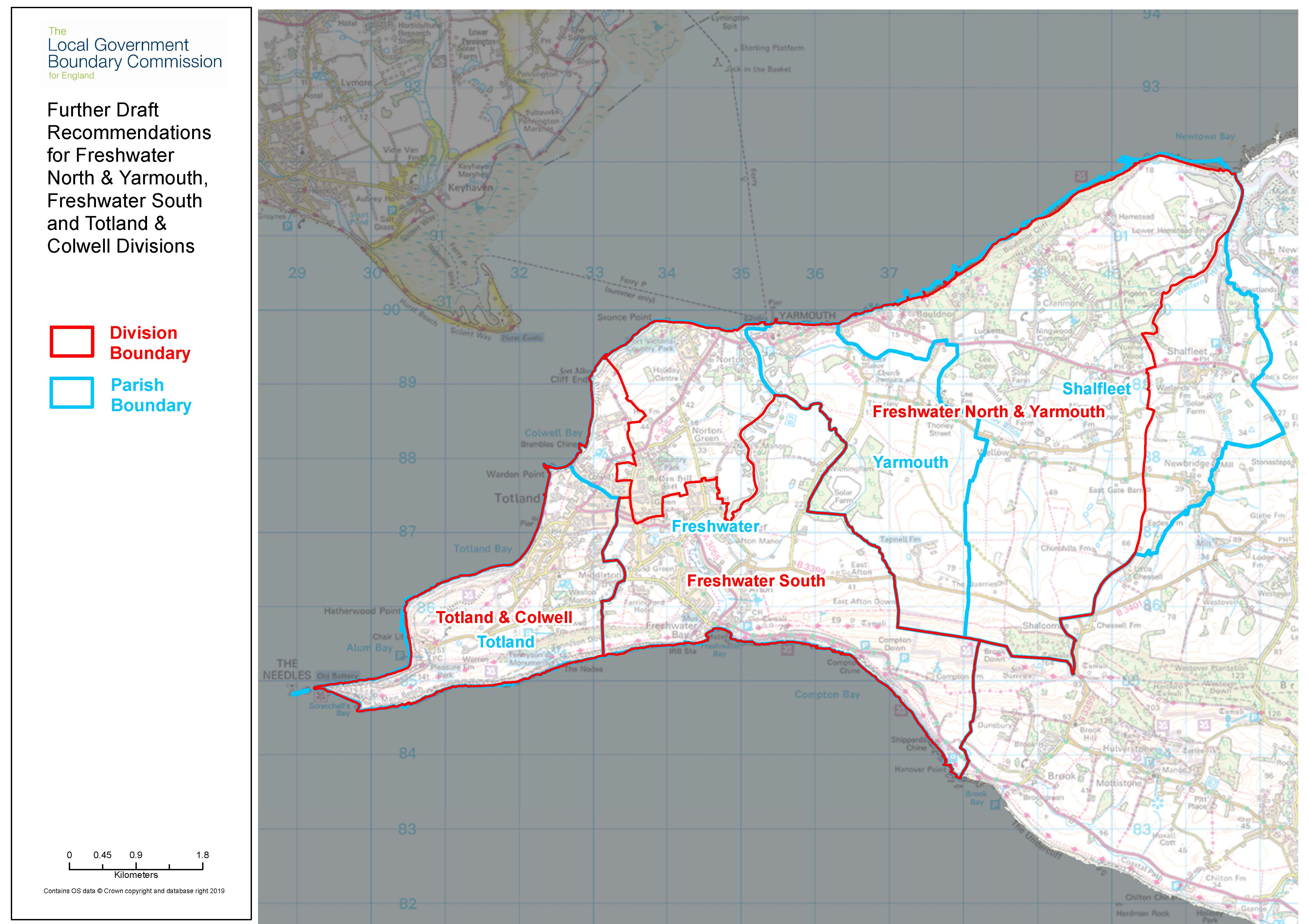 Further draft recommendations mapping for Freshwater