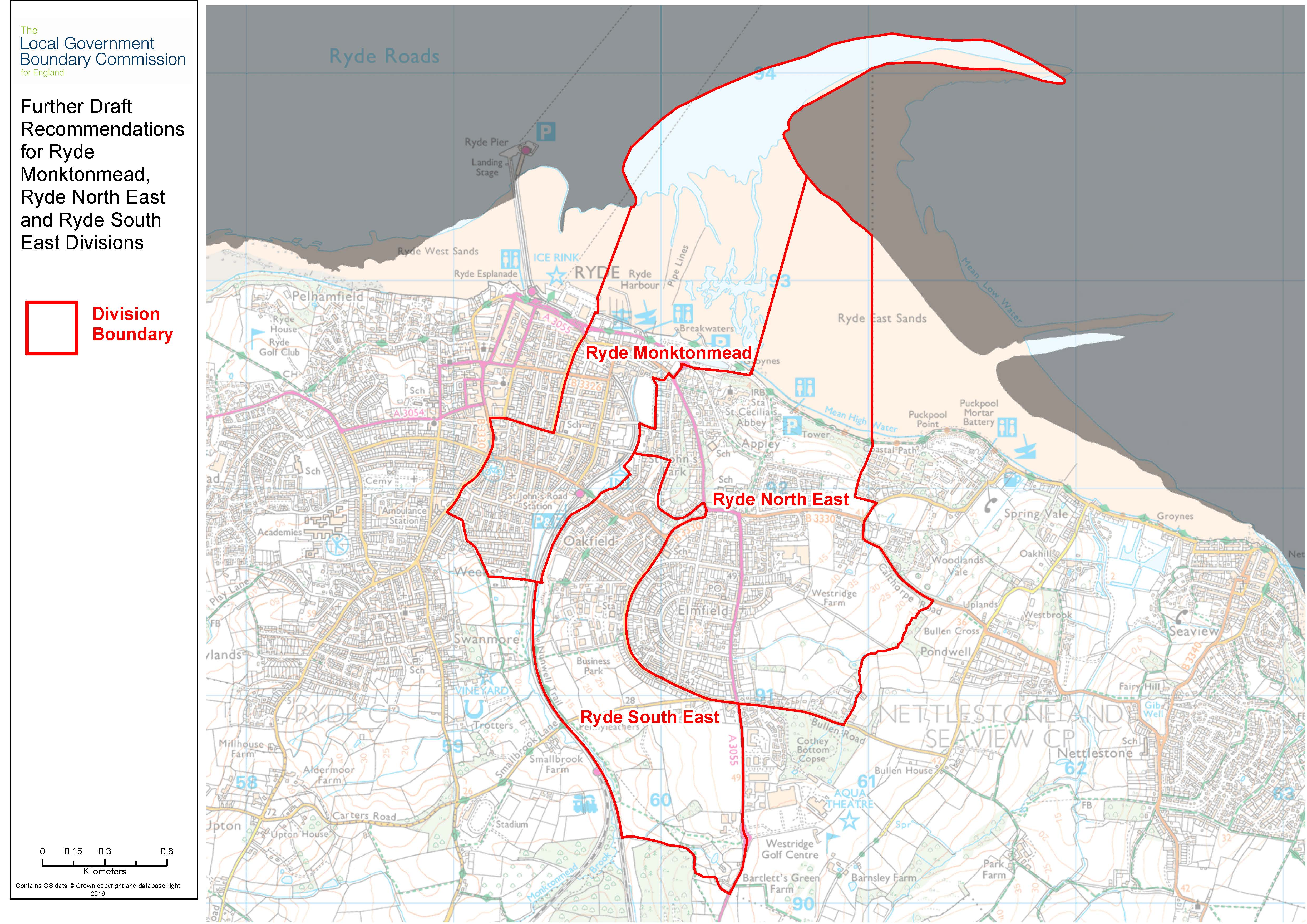 Further draft recommendations mapping for Ryde
