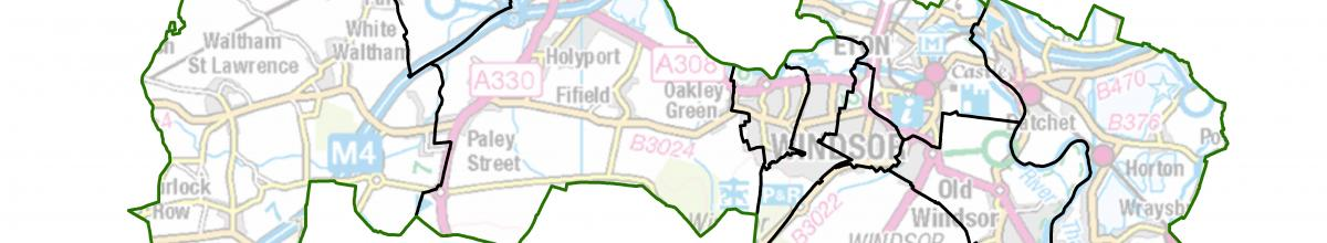 Windsor and Maidenhead map
