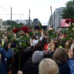 Oslo's memorial service at Rådhusplassen