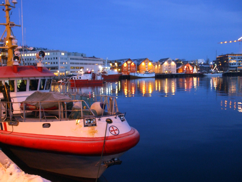 Harbour in Tromsø