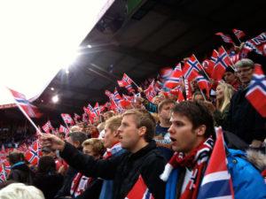 Norwegian football fans