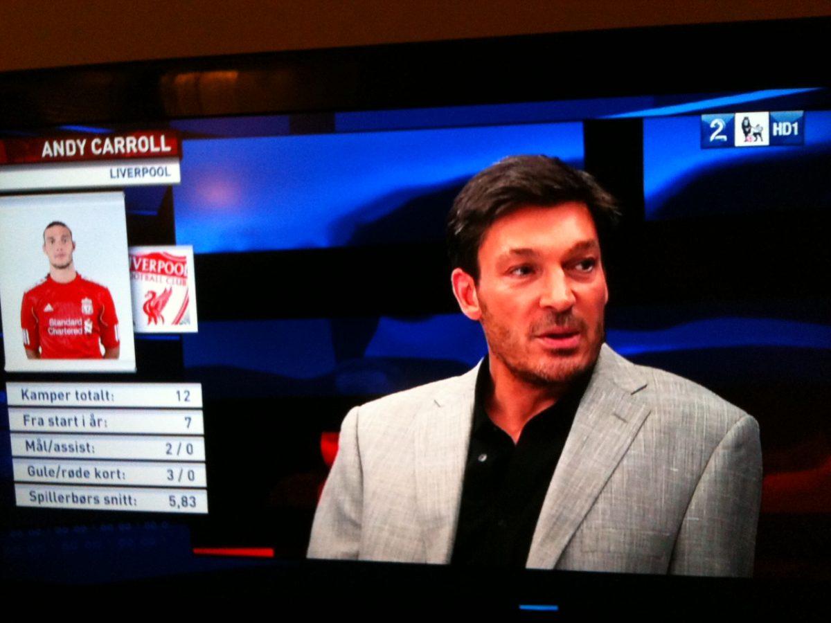 Trevor Morley on Norwegian TV