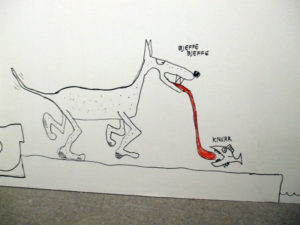 Random cartoon in Rockheim