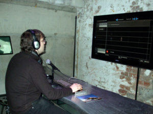 Me playing with some mixing software