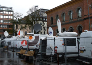Media coverage of the Oslo trial