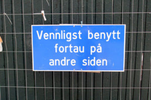 The Challenge of Learning Norwegian