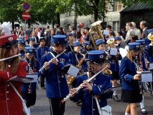 Norway Consitution Day parade