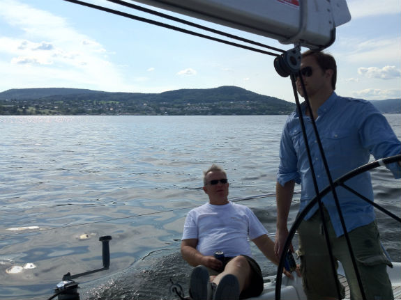 Sailing on the Drammensfjord