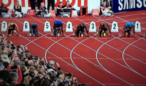 Oslo Men's 100m 2012
