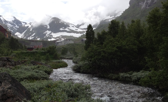 River in Myrdal