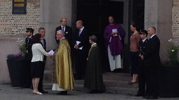 Jens Stoltenberg at Oslo Cathedral