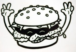 Illegal Burger graphic