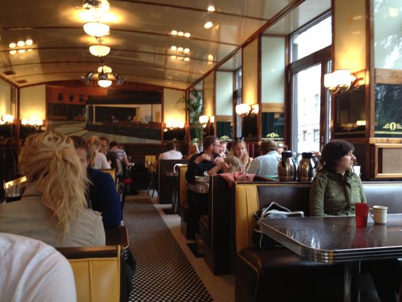 Interior of Nighthawk Diner, Grünerløkka