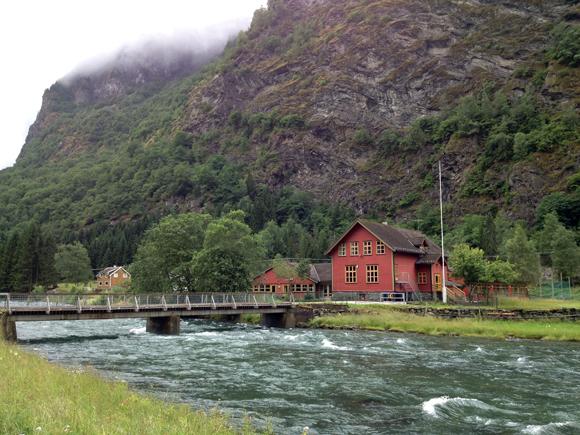 Flåm village, Norway