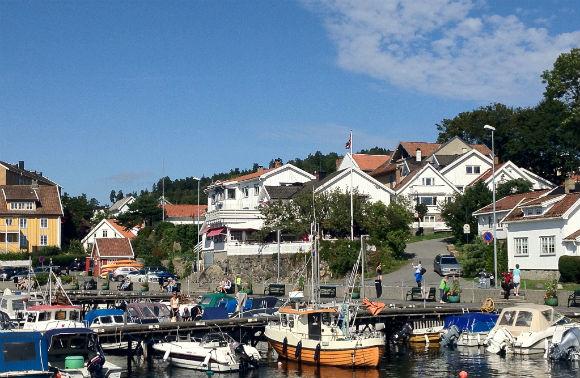 Drøbak harbour