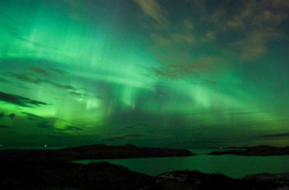 Northern Lights over Kristiansund