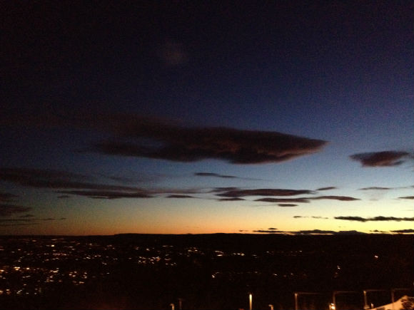 Sunset over Oslo