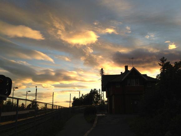 Sky in Oslo