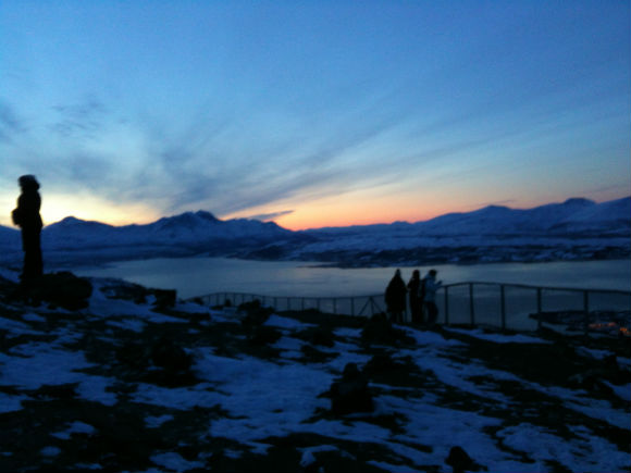 Polar night in Tromsø