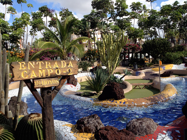 Tenerife crazy golf