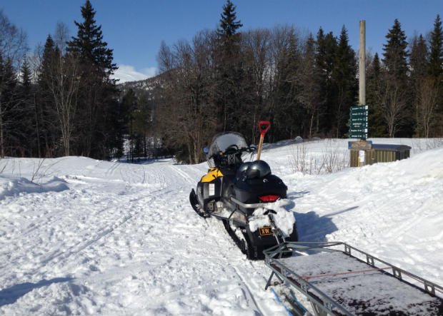 Snowmobile Grong