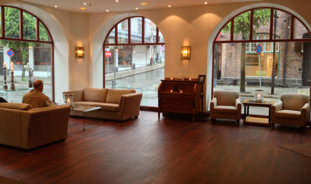 First Hotel Marin lobby