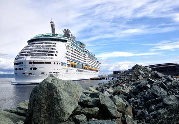 Adventure of the Seas in Trondheim