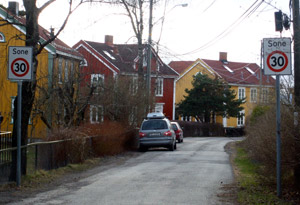 Ekeberg area in Oslo