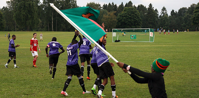 Zambia at Norway Cup 2013