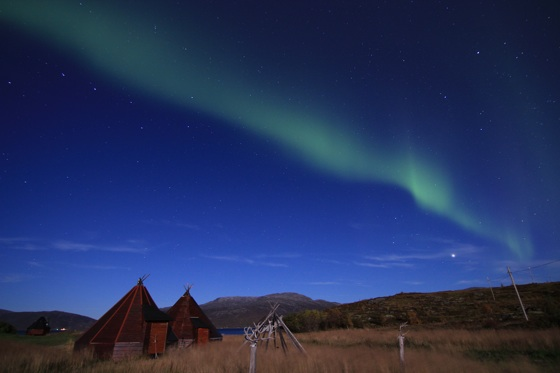 Northern Lights above Kvaløya