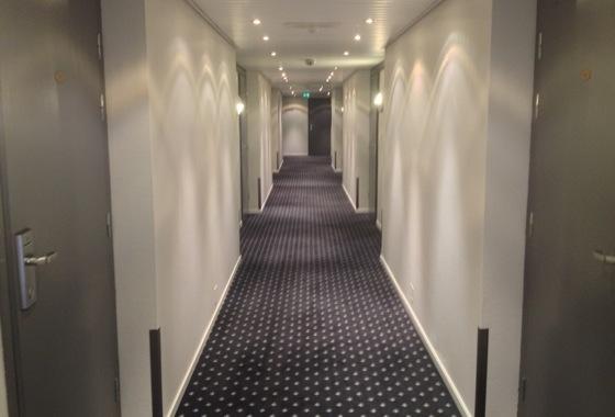 Best Western Havly Hotel corridor