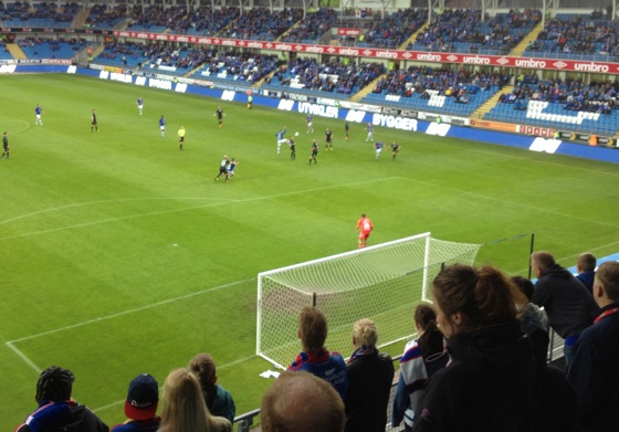 Aker Stadion away end