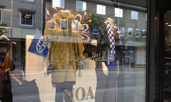 Shop window in Molde