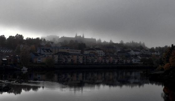 NTNU in fog