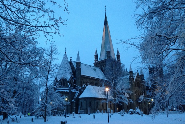 Nidaros Domkirke winter