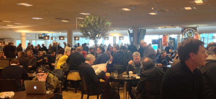 Domestic terminal at Bergen Airport