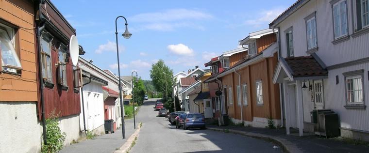 A street in Kongsberg