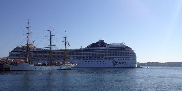 Cruise to Kristiansand